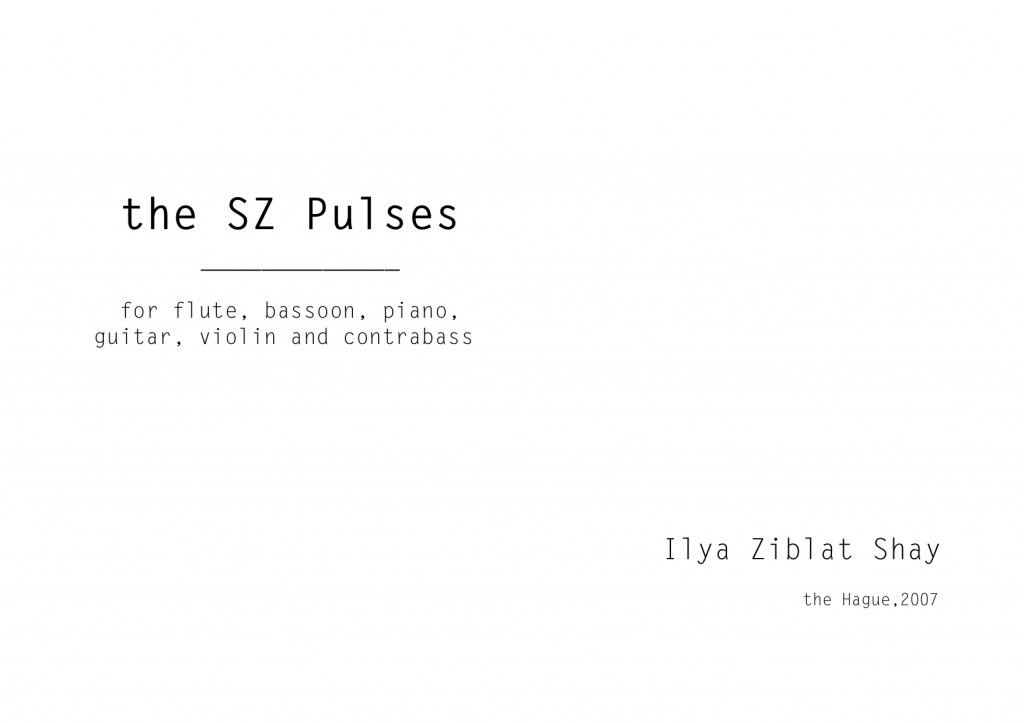 Ziblat Shay - the SZ Pulses sample_1