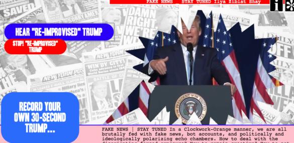 FAKE NEWS \ Screen Dive screen shot