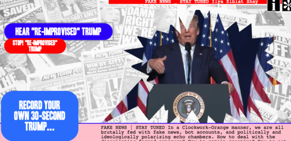 FAKE NEWS \ Screen Dive screen shot